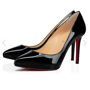 Authentic 100mm Christian Louboutin Pigalle Plato